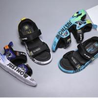 7-PE 七波辉 男童凉鞋2021新款帅气软底儿童凉鞋中大童男孩沙滩鞋夏学生