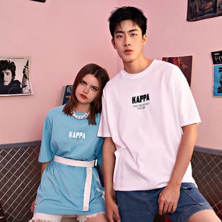 Kappa 卡帕 21年新款春夏运动休闲透气情侣T恤衫