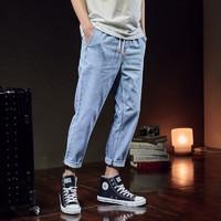 PLUS会员:TONLION 唐狮 626210083011 男士牛仔裤