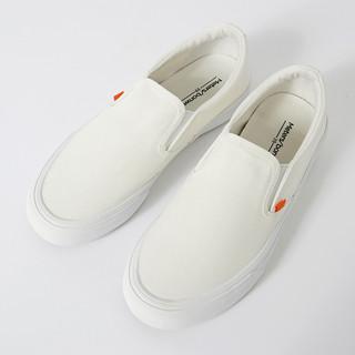 Meters bonwe 美特斯邦威 帆布鞋男夏新款韩版潮懒人鞋休闲鞋透气夏鞋布鞋