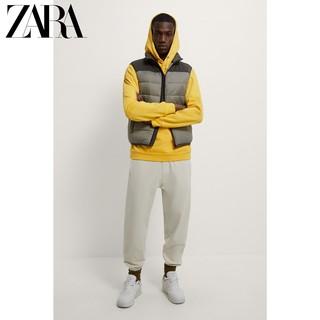 ZARA [折扣季男装 拼接棉服背心马甲 06518301916