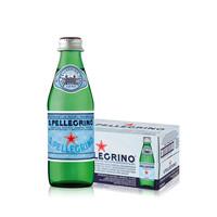 S.PELLEGRINO 圣培露 含气天然气泡水玻璃瓶  250ml*24瓶/箱