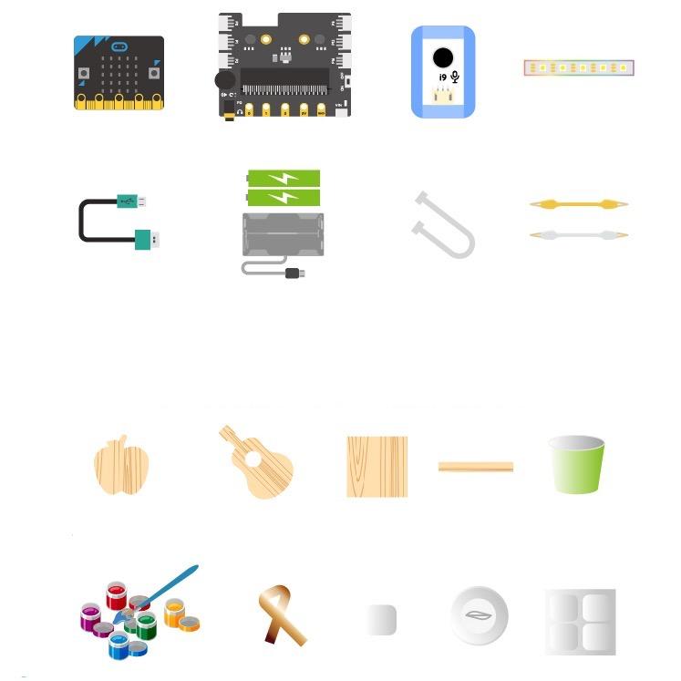 造物粒子少儿编程入门套件暑假stem教育益智玩具