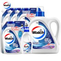 Walch 威露士 有氧洗衣液套装 2.68kg+2kg+1kg*3瓶+300ml