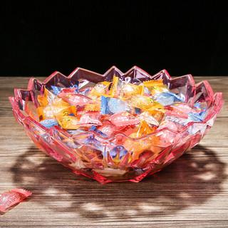 四海透明水果盘大号 圆形款-