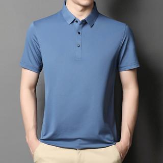 TUCANO 啄木鸟 夏季纯色翻领男士短袖休闲T恤清爽透气丝滑速干男式POLO衫