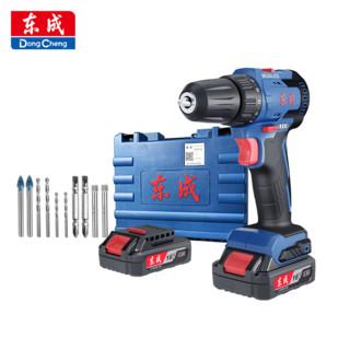 Dongcheng 东成 DCJZ24-10(E) 电动螺丝刀锂电钻 16V 2.0AH 标配10件套