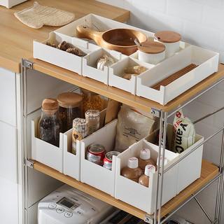 BELO 百露 桌面杂物收纳盒 10*10*6.3cm