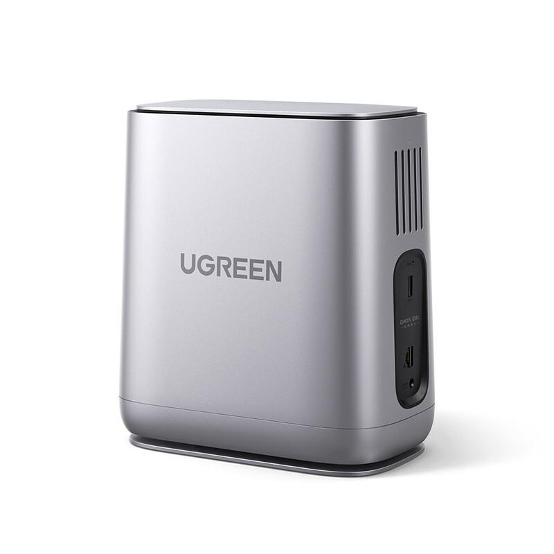 UGREEN 绿联 DH2100 NAS 网络存储服务器(2×4T酷狼硬盘)
