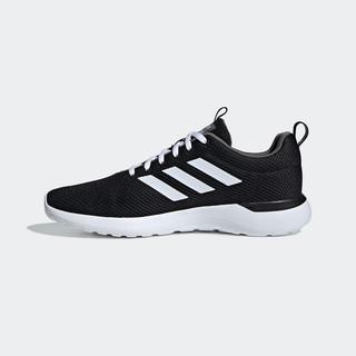 adidas ORIGINALS 阿迪达斯neo LITE RACER CLN男鞋休闲运动鞋EE8138 一号黑/白/淡灰 42(260mm)