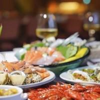 深圳宝安华盛希尔顿花园酒店 花荟味餐厅自助晚餐