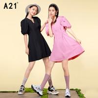 A21 女士简约连衣裙