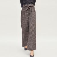 super.natural SNURW029630100 女士格纹宽松休闲裤