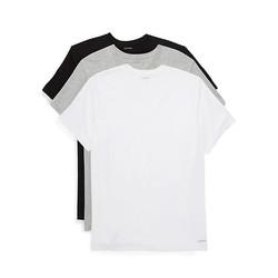 Calvin Klein 卡尔文·克莱 男士圆领纯棉T恤 3件装