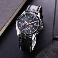 CASIO 卡西欧 大众指针商务休闲时尚皮带钢带男士手表