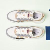 ERKE 鸿星尔克 休闲运动鞋女款 个性鞋扣网革拼接女式休闲鞋