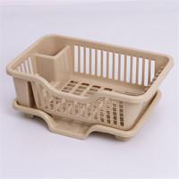 邹振记 厨房放碗碟沥水架装碗筷塑料餐具收纳箱置物架收纳盒