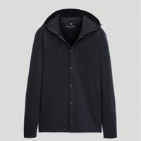 Massimo Dutti 00732273401 男装棉质衬衫式卫衣