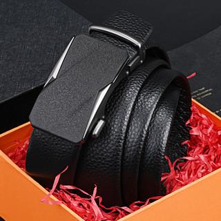 ROMON 罗蒙 21新款时尚自动扣腰带男士皮带商务真皮礼盒裤带