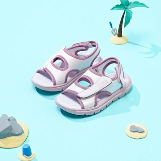 ANTA 安踏 男女小童沙滩凉鞋舒适透气百搭夏季新款安踏儿童凉鞋子
