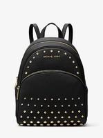 MICHAEL KORS 迈克·科尔斯 Abbey Medium Studded Pebbled Leather Backpack