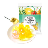 PLUS会员:樱桃小丸子 果味果冻 270g*2袋