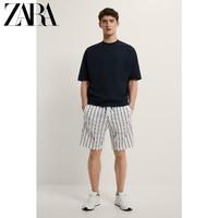 ZARA [折扣季]男装 泡泡纱条纹休闲短裤 07380655250