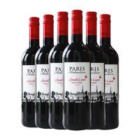 PARIS SEDUCTION 巴黎诱惑 麦德龙红酒 甜红葡萄酒 750ml 6支装