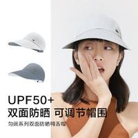 Beneunder 蕉下 夏季棒球帽新款防紫外线太阳帽防晒帽子女遮阳帽鸭舌帽