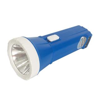 YAGE 雅格 yage) 雅格LED手电筒充电式家用户外露营便携家居照明袖珍便携 YG-3807蓝色一只装