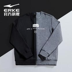 ERKE 鸿星尔克 51219314037 男子运动卫衣