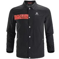 KAILAS 凯乐石 户外旅行运动休闲外套男款防风山峰教练夹克开衫