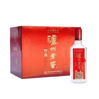 LUZHOULAOJIAO 泸州老窖 特曲3两3 52度 浓香型高度白酒 165ml*6瓶 礼盒装