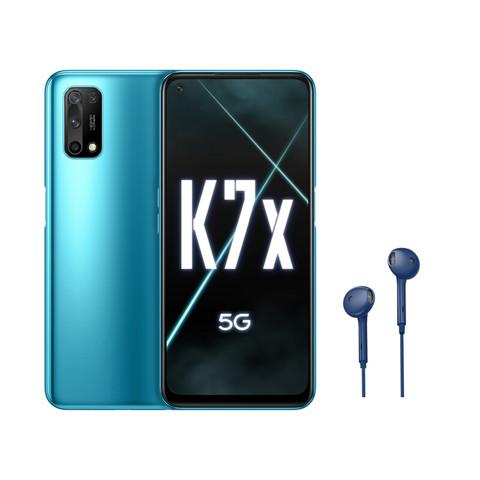 OPPO K7x 双模5G 4800万四摄  蓝影 6GB+128GB 30W闪充 全网通游戏智能手机