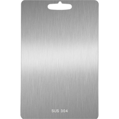 SHULE 墅乐 德国304不锈钢切菜板防霉家用擀面板和面砧板案板厨房长方