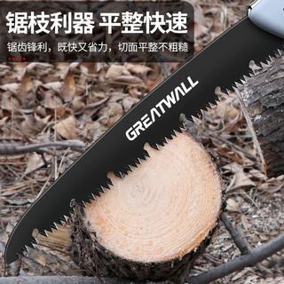 长城锯树锯子手锯木工快速折叠锯木头手工据神器伐木刀锯家用手持