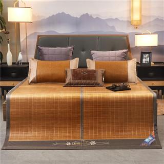 Bejirog 北极绒 碳化竹席折叠式双人凉席150*195cm