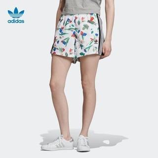 adidas 阿迪达斯 官方 adidas 三叶草 AOP SHORTS 女子短裤ED4761