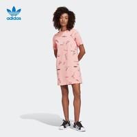 adidas 阿迪达斯 三叶草 GJ7104 女子运动连衣裙