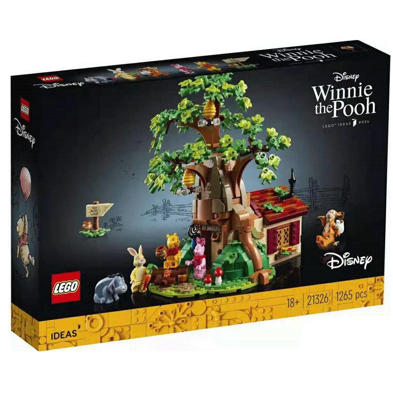 百亿补贴 : LEGO 乐高 IDEAS系列 21326 小熊树屋