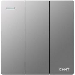 CHNT 正泰 双控开关插座86型6T五孔5三孔16a家用墙壁暗装带usb开关面板