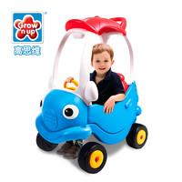 Grow'n up 高思维 四轮游乐场玩具小房车可坐人手推婴儿童宝宝滑行学步车1018