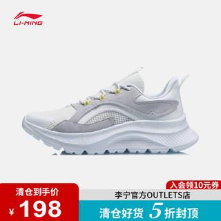 LI-NING 李宁 CF溯系列X敦煌联名飞羽休闲鞋男女2021新款情侣网面运动鞋男
