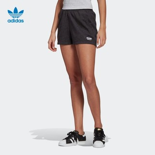 adidas 阿迪达斯 官网 adidas 三叶草 SHORTS 女装夏季运动短裤GN4330