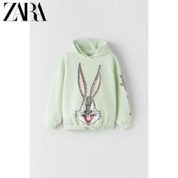 ZARA 童装女童 兔巴哥印花卫衣