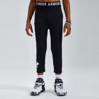 UNDER ARMOUR 安德玛 大童打底裤男童2021夏季新款儿童裤子安德玛童装百搭透气
