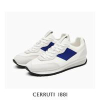 CERRUTI 1881 卓诺迪 2021春夏新款男鞋夏季透气罗意威版舒适慢跑鞋子男