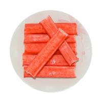 PLUS会员:xianbaike 鲜佰客 手撕蟹肉蟹味棒 500g