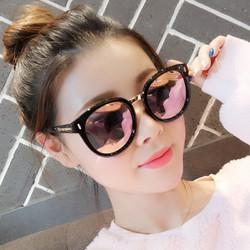 2021新款GM墨镜女ins韩版潮流防紫外线太阳眼镜网红时尚街拍圆脸