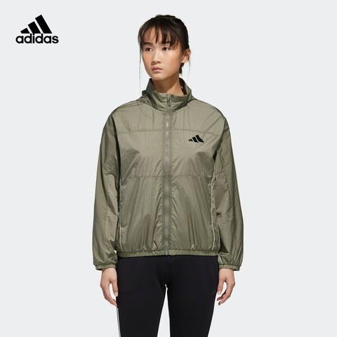 adidas 阿迪达斯 官网adidas 女装秋季运动型格夹克外套 GF0139